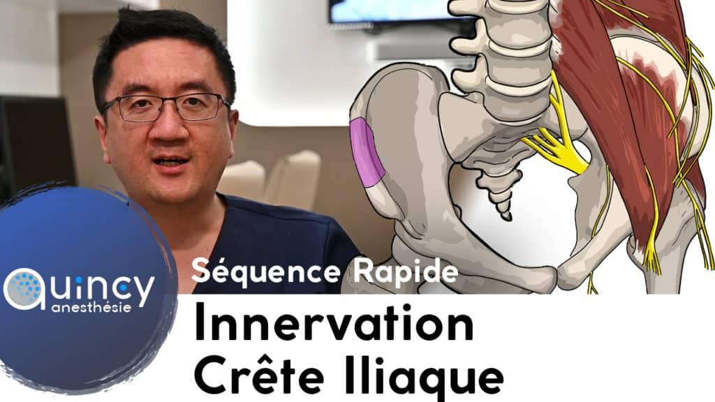 Innervation crête iliaque